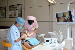 南充口腔医院治疗诊室